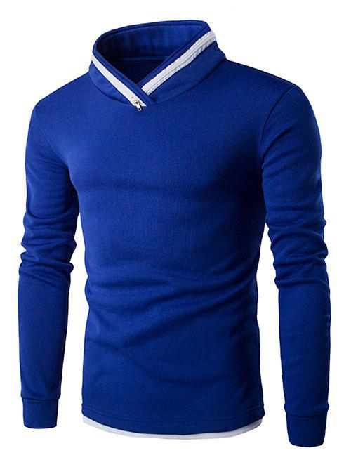 Chic Zipper Design Long Sleeves Sweatshirt For Men