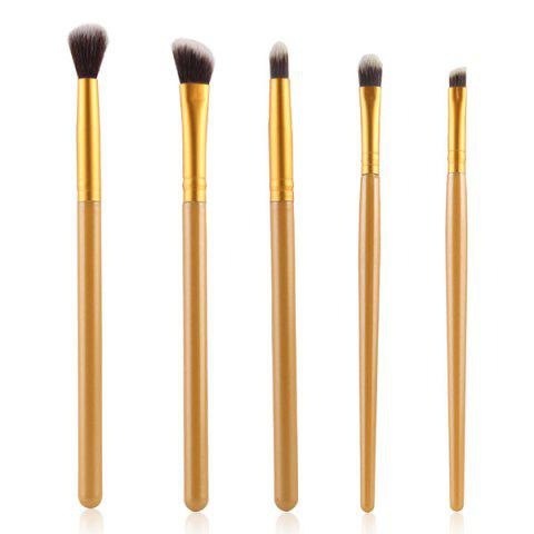 Cosmétiques Maquillage Pinceaux 5 Pieces Smokey Eye Nylon Set Eye - Or