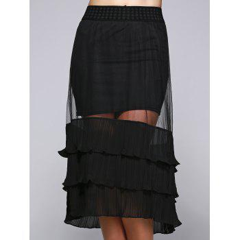 See-Through Convertible Skirt