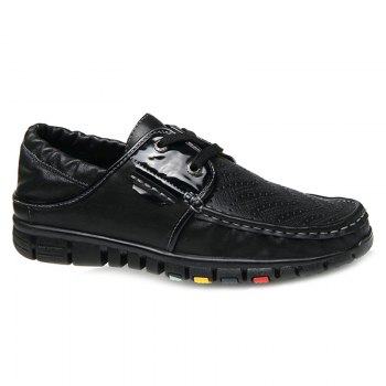 Stylish Breathable and Tie Up Design Men's Casual Shoes