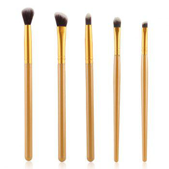 Cosmetic 5 Pcs Smokey Eye Nylon Eye Makeup Brushes Set