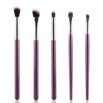 Cosmetic 5 Pcs Portable Nylon Eye Makeup Brushes Set