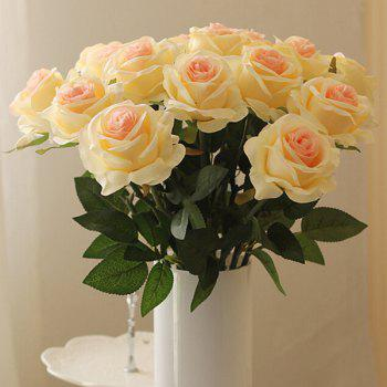 A Bouquet of Pretty Room Wedding Decorative Artificial Rose Flower