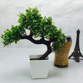 Chic Style Fake Miniascape Evergreen Tree Home Decor Artificial Flower