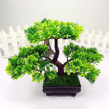 Sweet Fake Miniascape Evergreen Tree Home Decoration Artificial Flower