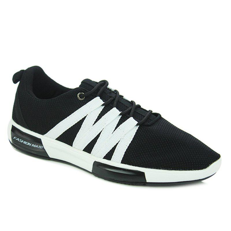 Fashionable Colour Splicing and Lace Up Design Men's Athletic Shoes trendy colour matching and lace up design women s athletic shoes