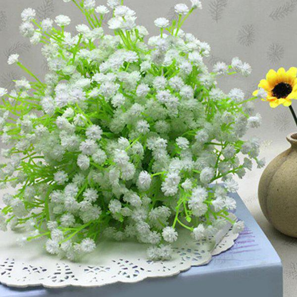 Creative A Bouquet of White Little Floral Decoration Artificial Flower a bouquet of white little flowers home decor artificial flower