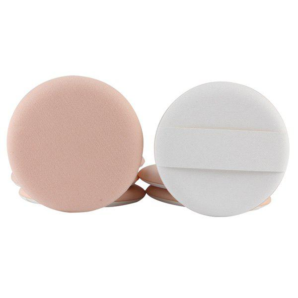 Cosmetic 7 Pcs Round Dual-Use Dry and Wet Calm Makeup BB Cream Air Puffs - COMPLEXION