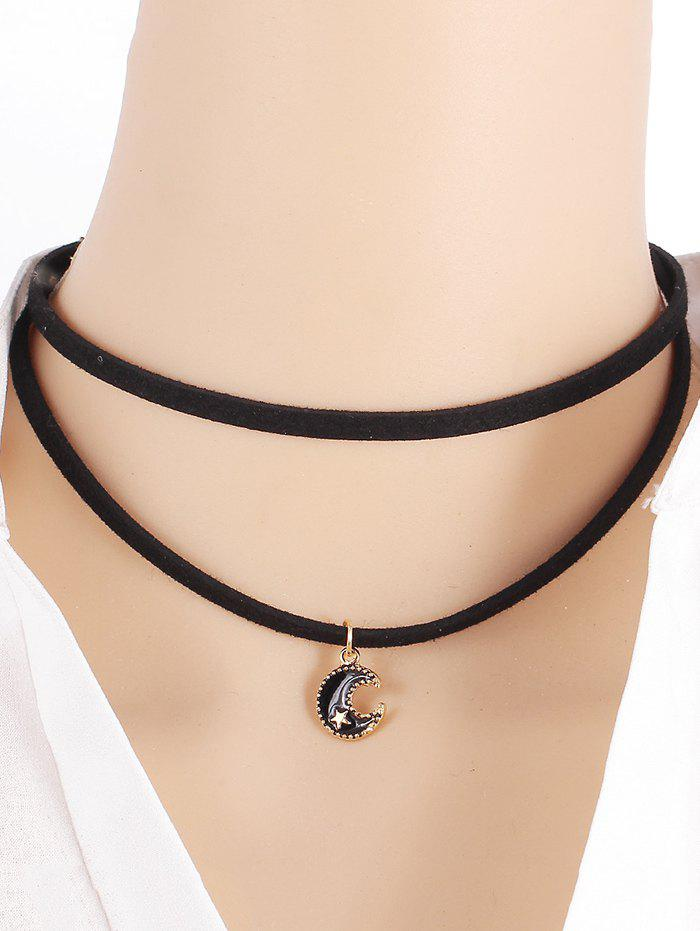 Chic Moon Star Necklace