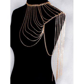 Vintage Hollow Out Body Chain - GOLDEN GOLDEN