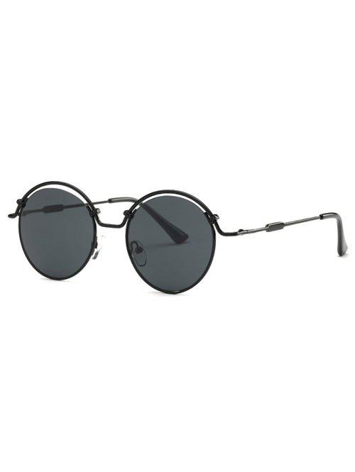 Stylish Hollowed Wire Frame Sunglasses