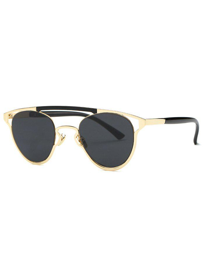 Stylish Full Frame Crossbar Sunglasses