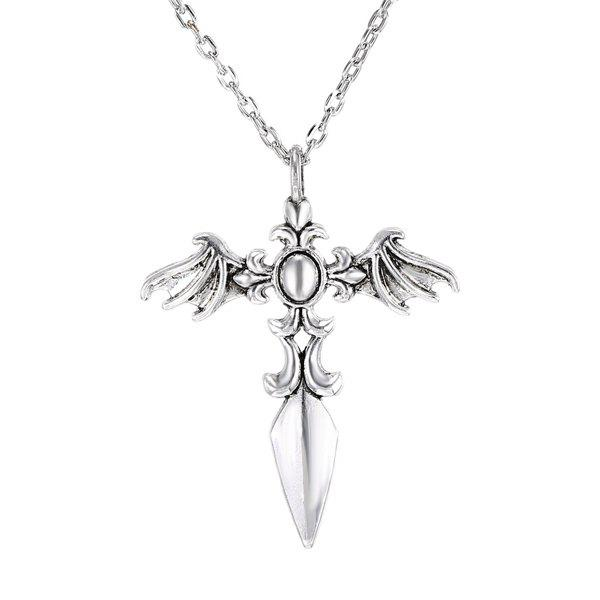 Chic Cross Wings Sweater Chain For Men