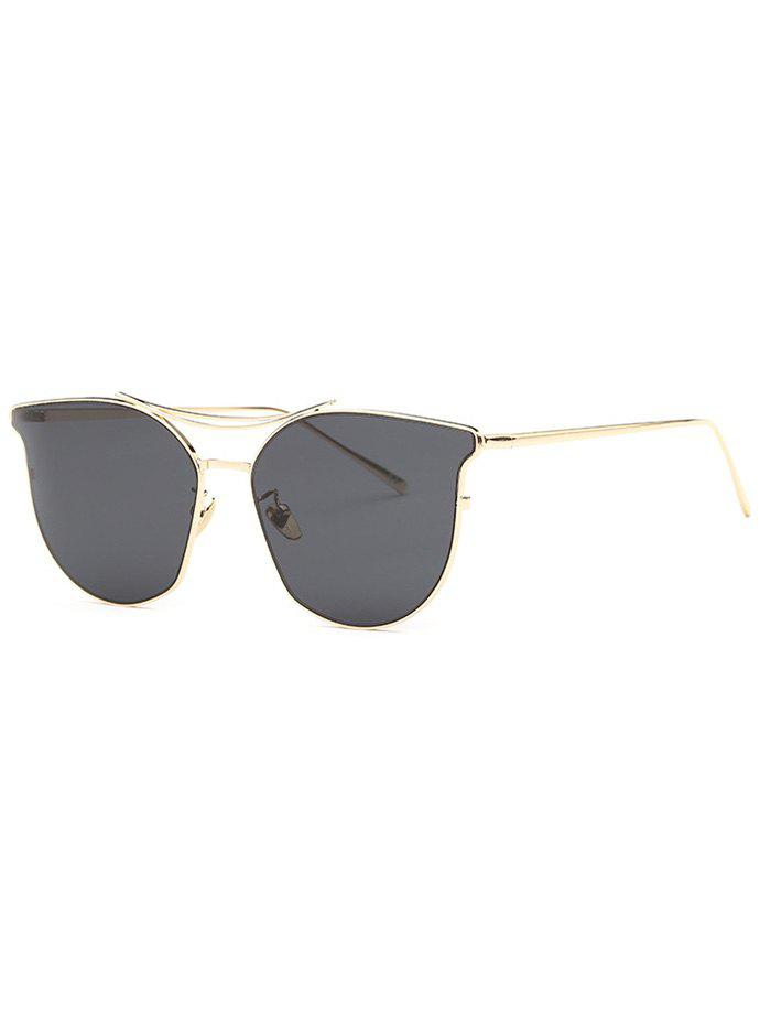Stylish Full Frame Pilot Cat Eye Sunglasses
