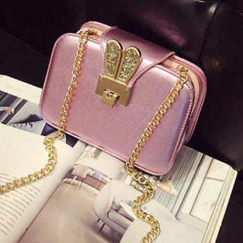 Fashionable Chain and Sequined Design Women's Crossbody Bag