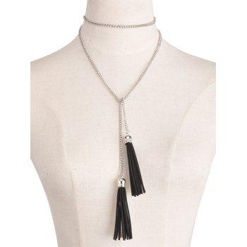 Statement Tassel Pendant Necklace
