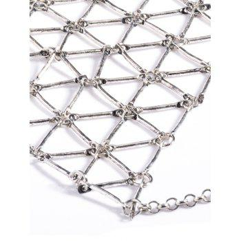 Punk Style Triangle Body Chain -  SILVER