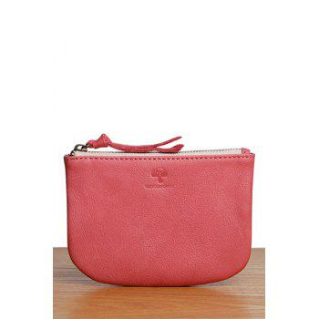 Zipper Mini Coin Purse - CERISE CERISE