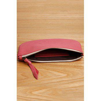 Purse Zipper Mini Coin - Cerise