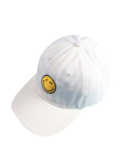 Chic Smilling Face Baseball Cap For Women