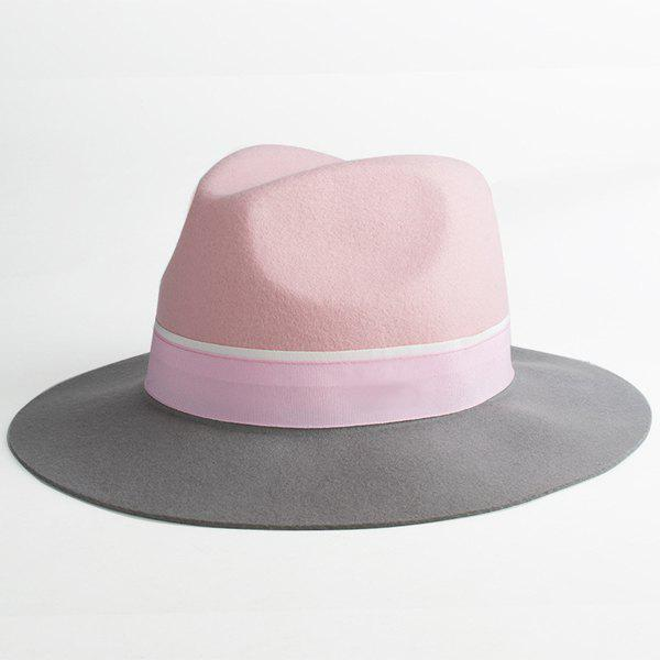 Elegant Faux Suede Multicolor Adjustable Fedora Hat For Women elegant women hat winter