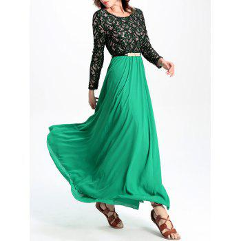 Stunning Lace Chiffon Dress For Women