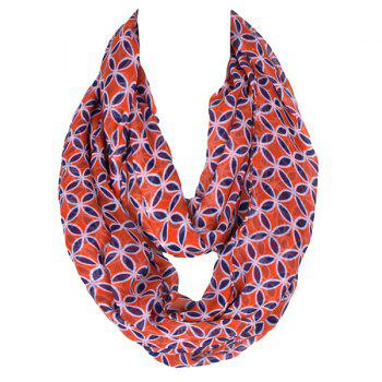 Retro Style Ancient Coin Pattern Women's Scarf