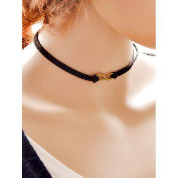 Punk Infinity Choker Necklace