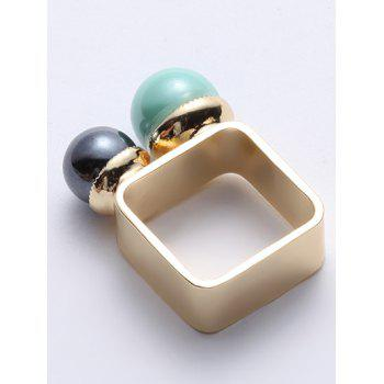 Vintage Artificial Pearl Ring - GOLDEN ONE-SIZE