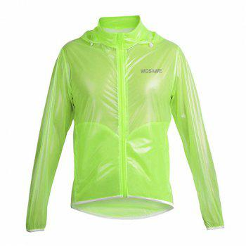 Fashionable Outdoor Bicycle Waterproof Solid Color Raincoat Cycling Clothes