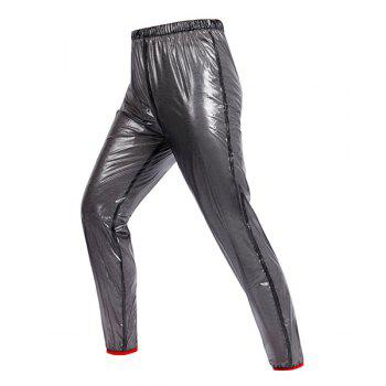 Stylish Outdoor Riding Waterproof Light Cycling Pants For Unisex - BLACK BLACK