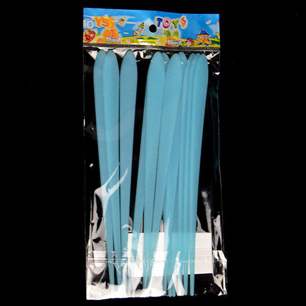 17CM Dormitory Creative Plastic Fluorescent Meteor Patch 12 Pack Wall Stickers - BLUE