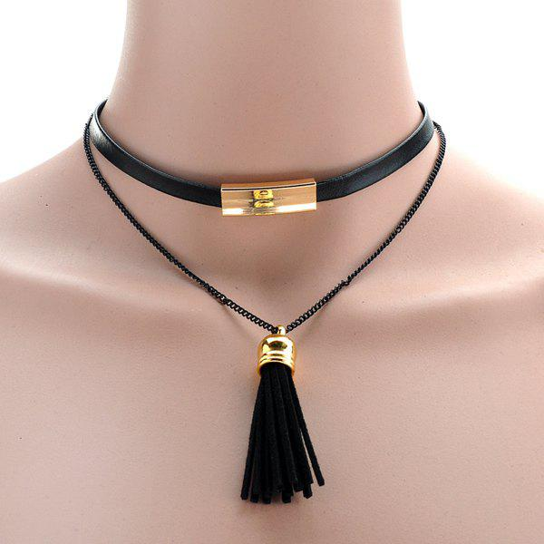 Delicate Tassel Pendant Choker For Women