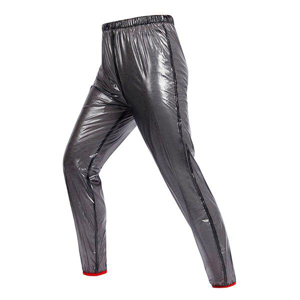 Stylish Outdoor Riding Waterproof Light Cycling Pants For Unisex - BLACK 2XL