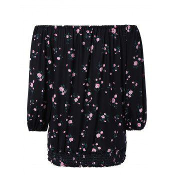 Stunning Off-The-Shoulder Floral Blouse For Women