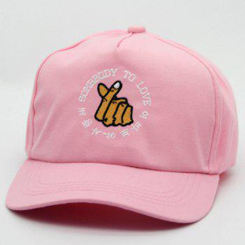 Hot Sale Hand Embroidery Casual Sunscreen Women's Baseball Hat
