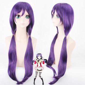 Buy Trendy Purple Extra Long Bunches Anime Love Live Tojo Nozomi Uniform Style Cosplay Wig PURPLE
