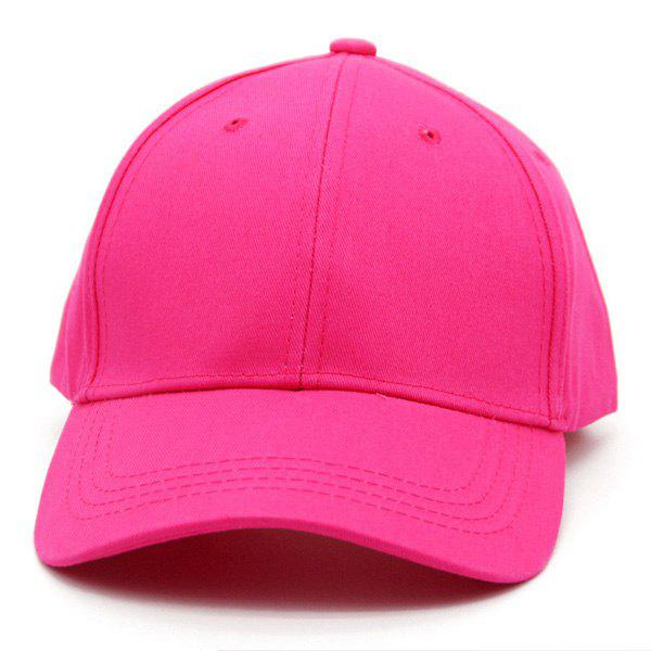 Chocolate Baseball Cap: Fashion Candy Color Street Dancer Baseball Cap, ROSE In