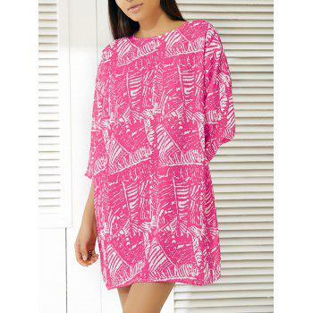 Fashionable Abstract Pattern Dress For Women