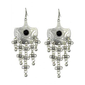 Bohemian Style Chinese Knot Earrings - SILVER