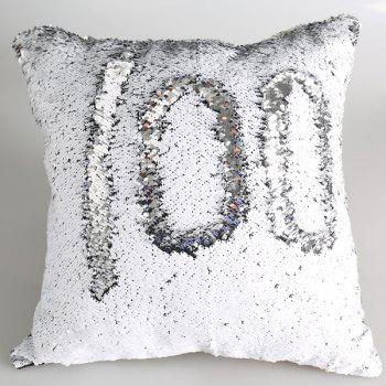 Shiny Mermaid Sequins DIY Throw Pillow Case