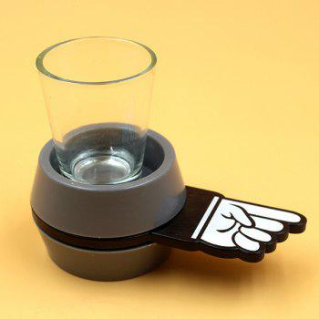 Sweet Spinner Spin Short  Finger Glass Wine Beer Drinkware