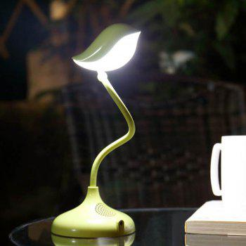 Stylish LED Eye Protection USB Charging Bird Shap Desk Lamp - GREEN GREEN