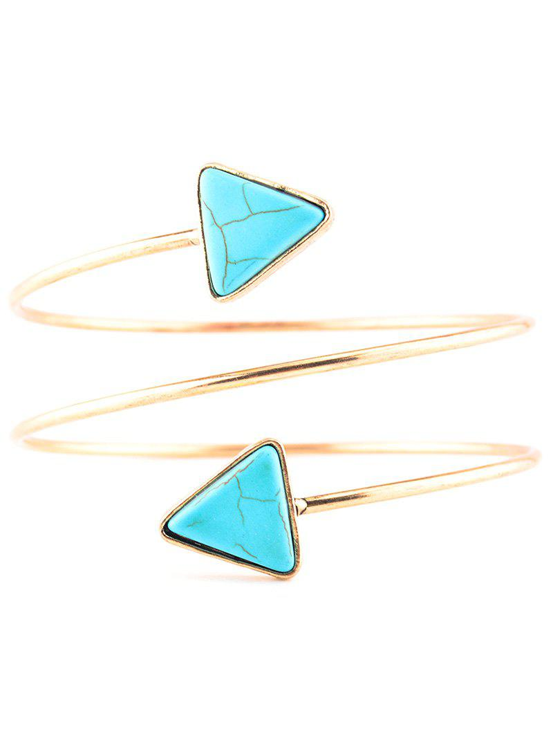 Graceful Artificial Turquoise Body Chain - GOLDEN