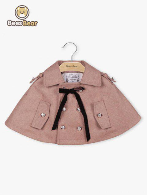 Red Double-breasted filles court Cap - Kaki CHILD-5