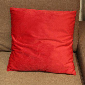 Mordern Style Flocking Candy Pure Color DIY Home Sofa Pillow Case