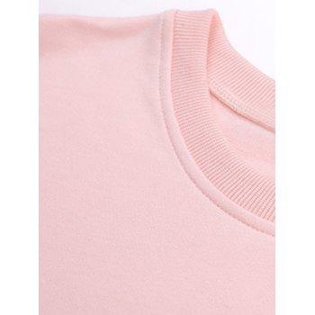 Star Graphic Long Sleeve T-Shirt - PINK PINK