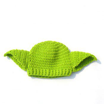Crochet Photography Prop Clothes Set For Baby - GREEN