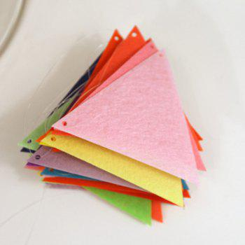Charming Home School Decor Colorful Party Supplies Pennants -  COLORFUL