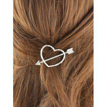 Graceful Heart Arrow Hairpin